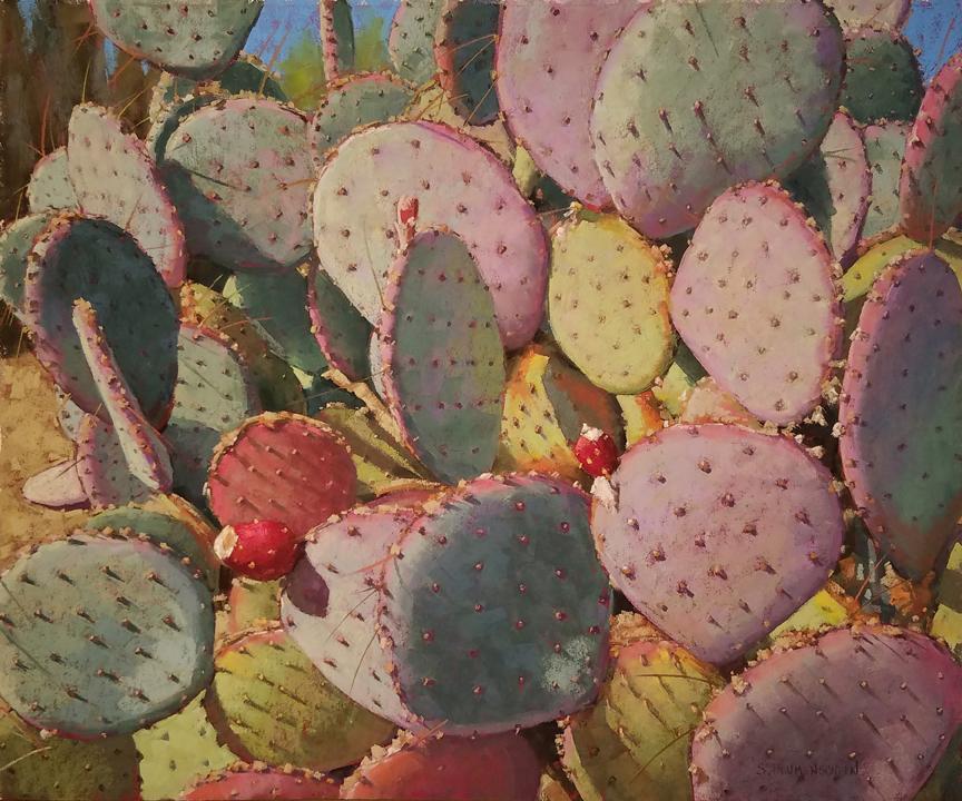 Sarah_Blumenschein_Prickly-Pear_20x24