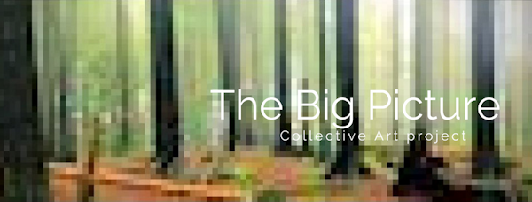 The Big Picture Art Project, Sandrine Pelissier, Babeanu, how to participate, simple drawings, artists network