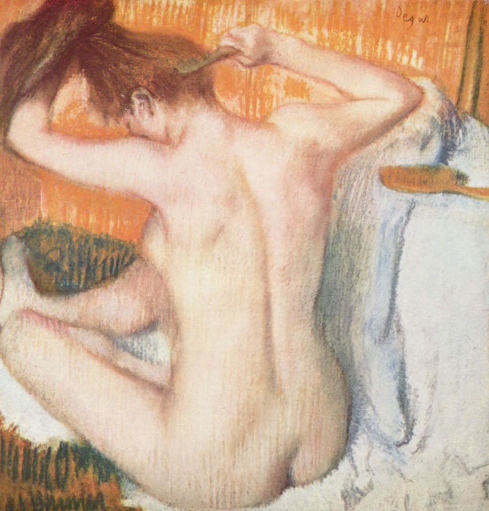 Edgar Degas | La Toilette | Famous Pastel | Artists Network