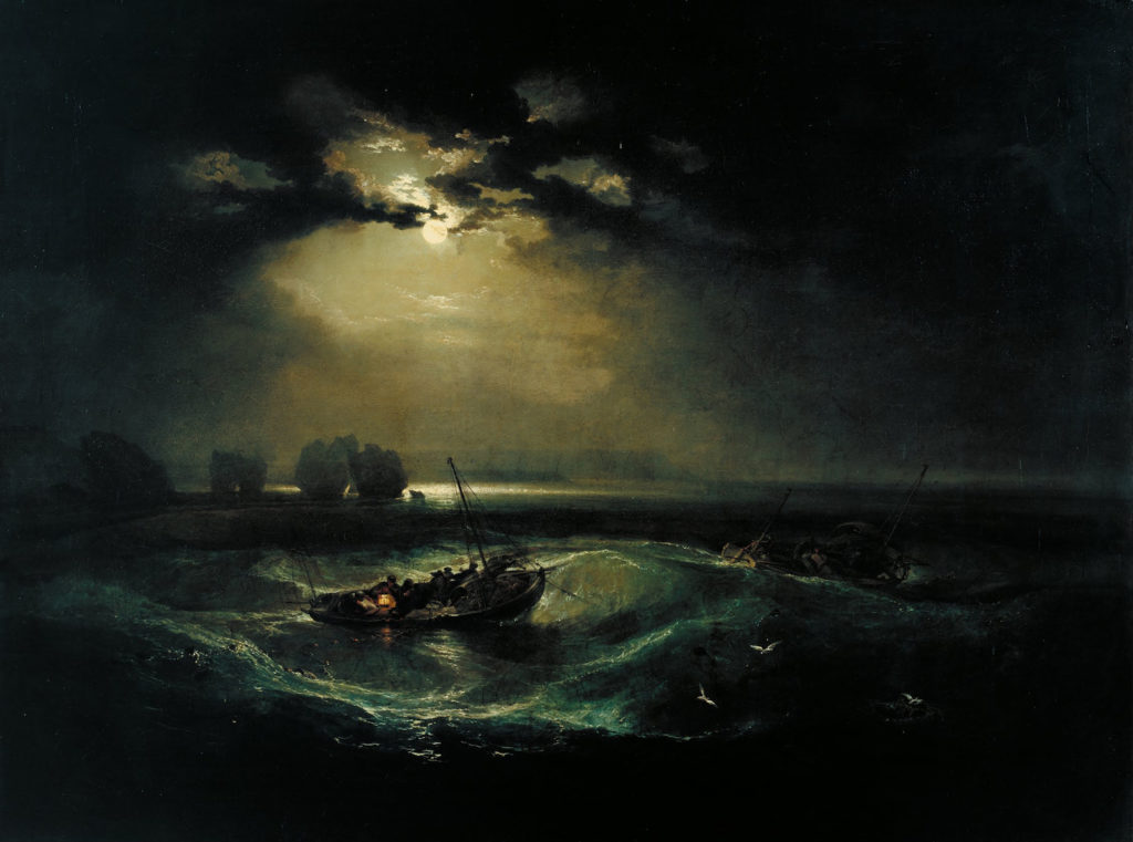 Fishermen at Sea by J. M. W. Turner | 5 Factors of Painting Successful Skies
