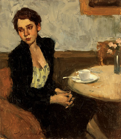 Passing the Time | Malcolm T. Liepke | The Emotional Connection in Figure Paintings | Artist Daily | Oil Painting