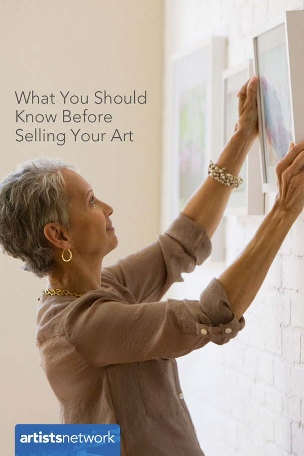 Selling your art, artist's network, Lee Hammond