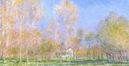 Springtime in Giverny by Claude Monet | Springtime Art | Artists Network