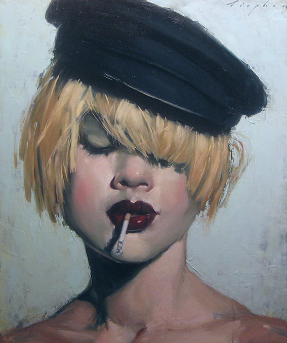 Streetwise | Malcolm T. Liepke | The Emotional Connection in Figure Paintings | Artist Daily | Oil Painting