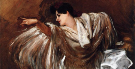 La Carmencita by John Singer Sargent, oil painting, 1890, detail | Oil Painting Lessons From John Singer Sargent | Artists Network