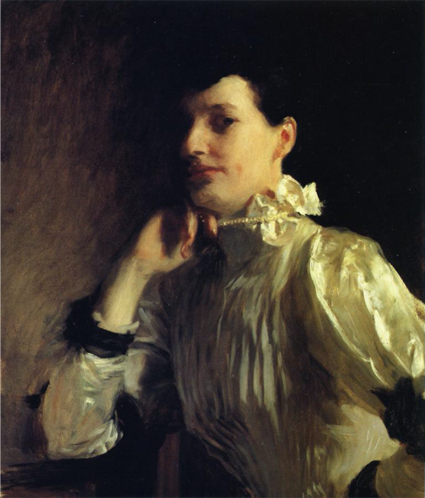 Mabel Marquand by John Singer Sargent, oil painting, c.1891 | Oil Painting Lessons From John Singer Sargent | Artists Network