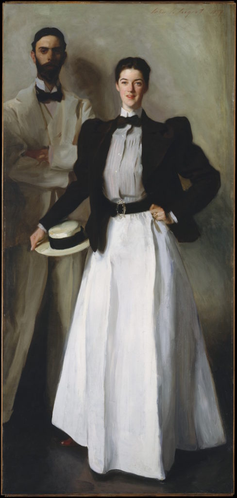 Mr. and Mrs. I. N. Phelps Stokes by John Singer Sargent, oil painting, 1897 | Oil Painting Lessons From John Singer Sargent | Artists Network