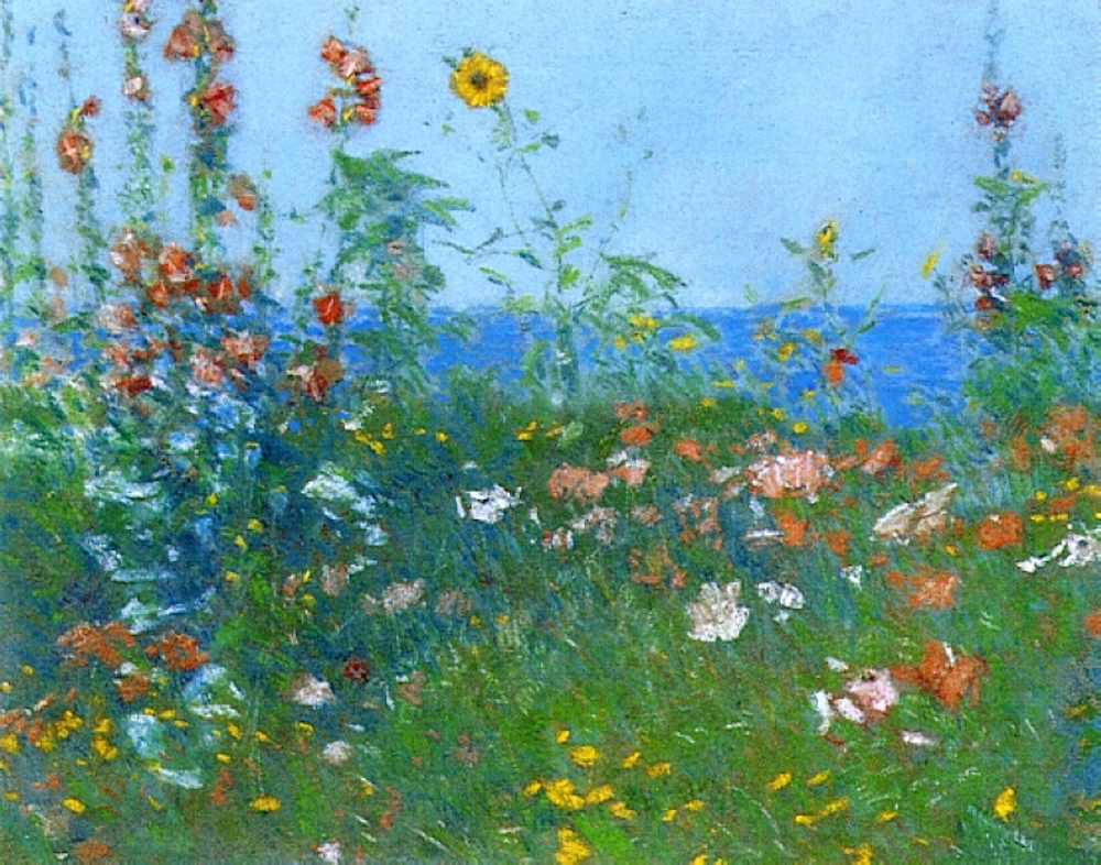 Poppies by Childe Hassam | Pastel Art | Famous Pastel | Artists Network