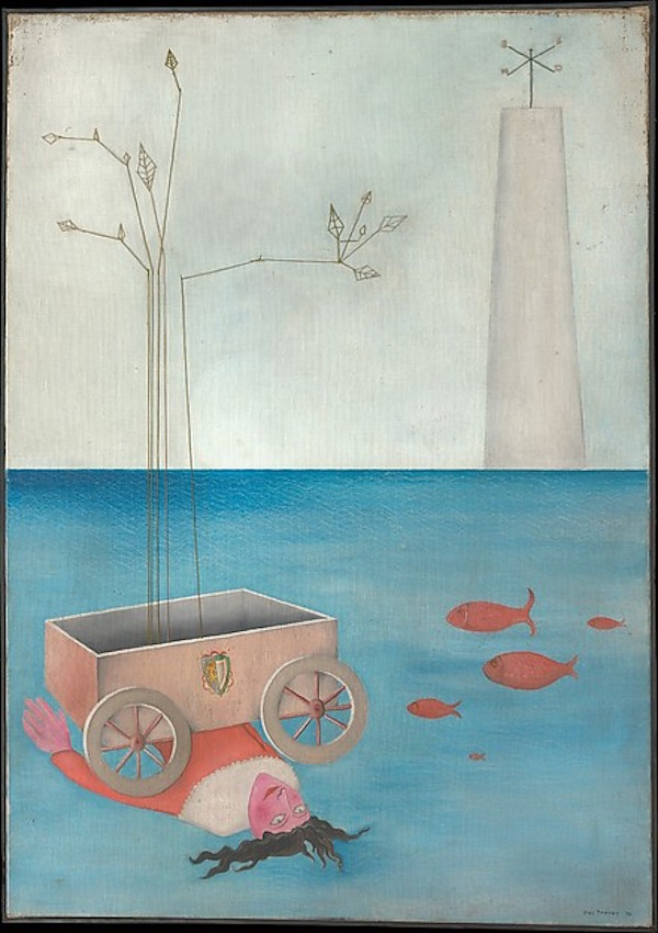 Title Unknown by Yves Tanguy - Must be Monday