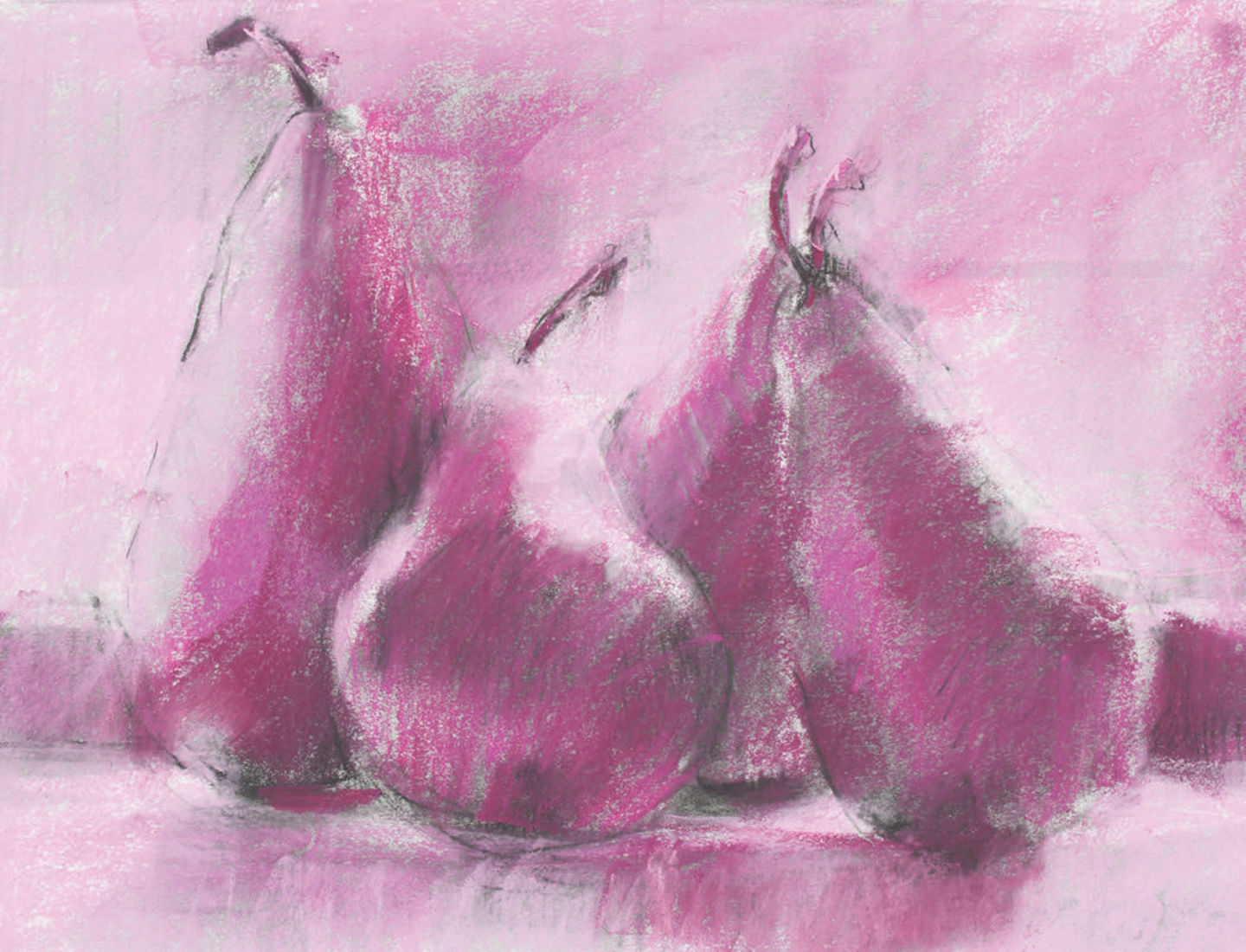 Pastel prompt using monochrome pastels by Dawn Emerson, brought to you by Artists Network
