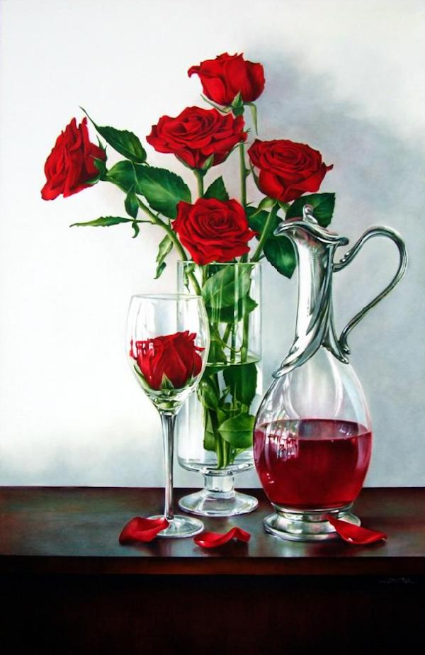 How to use glazes to create luminosity in your oil paintings red wine decanter by arleta pech how to use luminous glazes in oil paintings mightylinksfo Images