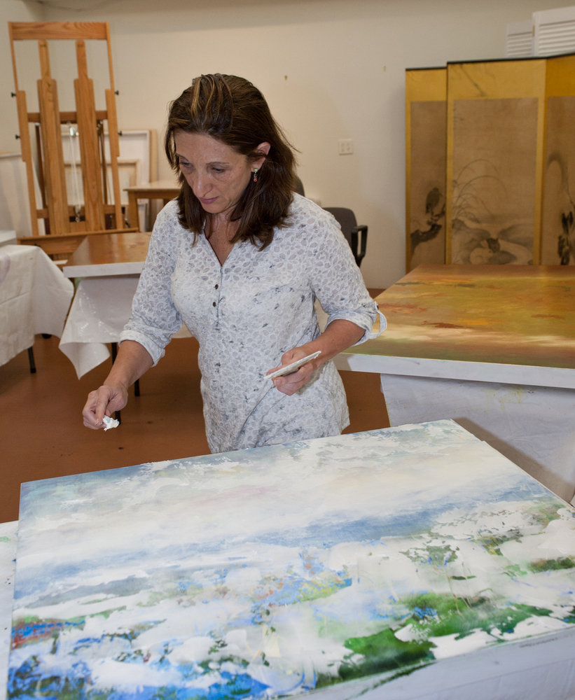 3 Cycles of Painting, Acrylic Painting, Nancy Reyner, Painting Process | Artists Network