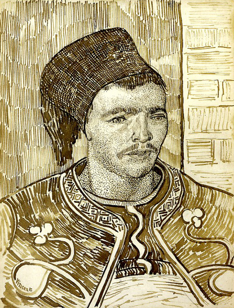 The Zouave by Vincent van Gogh | A List of 10 Master Drawers, and What They Teach Us | Drawing magazine | Artist Daily