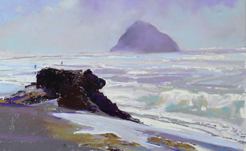 pastel_seascapes_Hosner_I-Envy-this-Rock-Where-On-Veils-Lie-10x16 | artistsnetwork.com