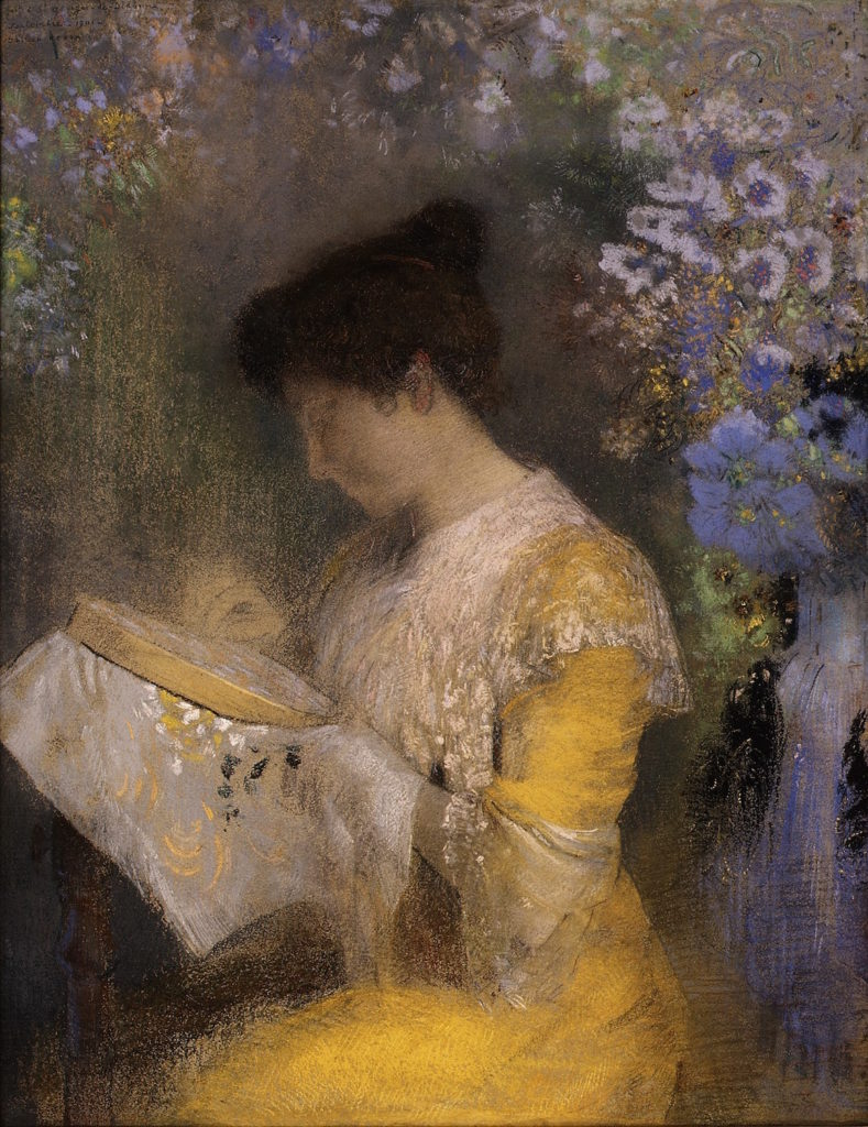 Portrait of Madame Arthur Fontaine by Odilon Redon | 5 Pastel Painting Tips You Need to Know to Be Successful | Artists Network