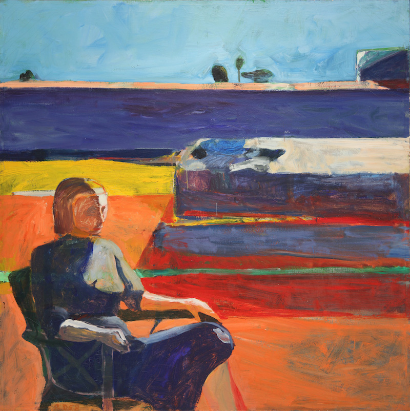 Perspective | Woman on Porch by Richard Diebenkorn, 1958.