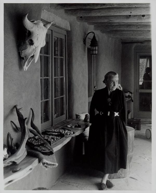 Georgia O'Keeffe | Brooklyn Museum | artist style | fashion | O'Keeffe portrait