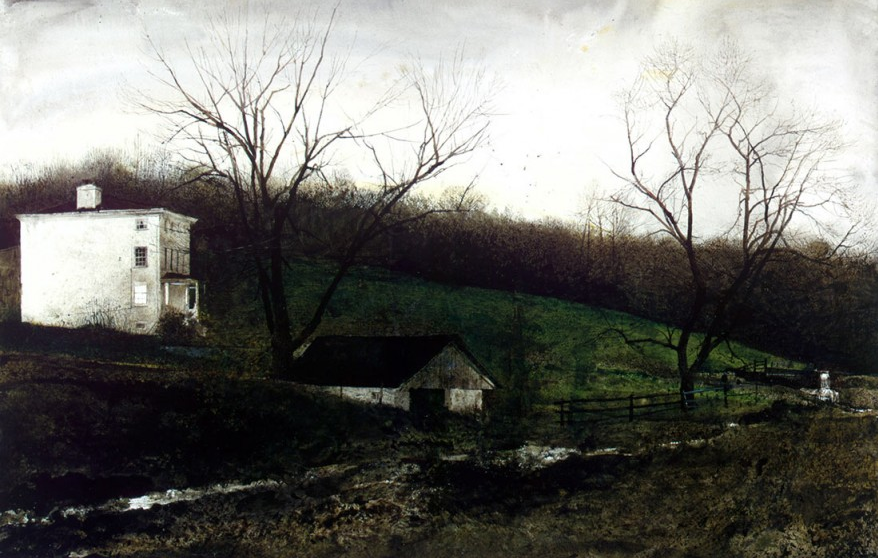 Andrew Wyeth | Exploring Exploring the Reasons Behind Wyeth's African American Subjects | Artist Daily