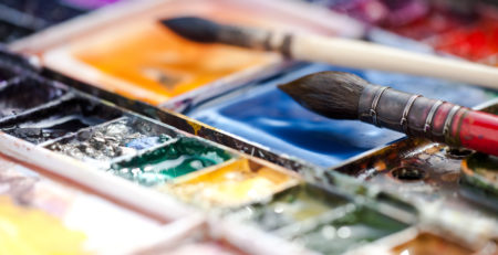 Beginner watercolor is all about the paints, photo courtesy of Getty Images, article by Artists Network