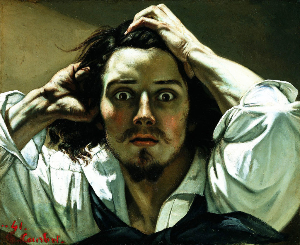 The Desperate Man by Gustave Courbet | Oil Painting | Art History | Artists Network