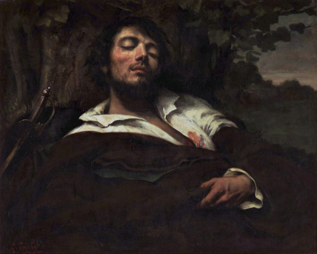 The Wounded Man by Gustave Courbet | The First Realist | Realism | Oil Painting | Art History | Artists Network