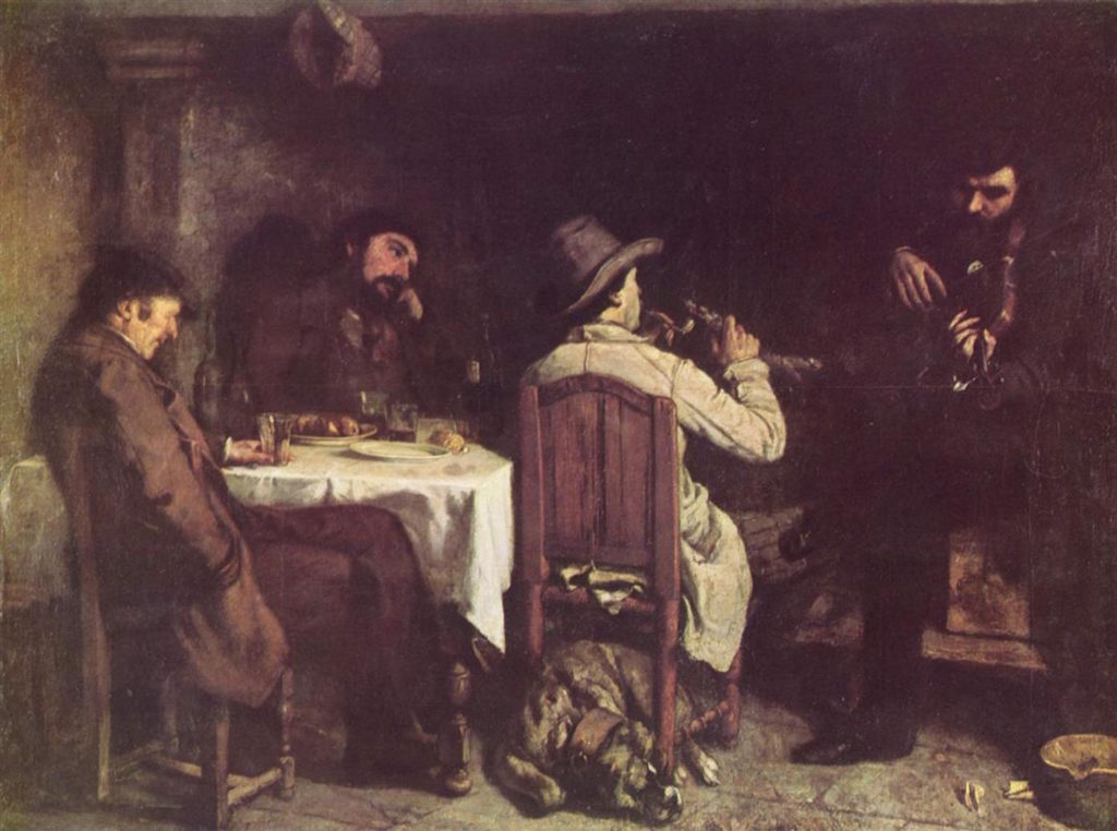 After Dinner at Ornans by Gustave Courbet | The First Realist | Realism | Oil Painting | Art History | Artists Network