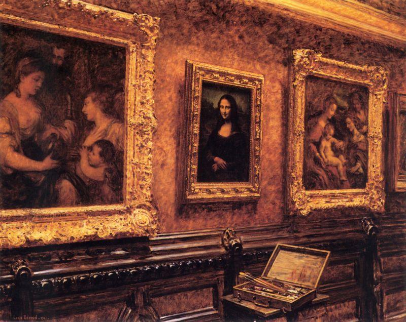 Louise Beroud's Mona Lisa