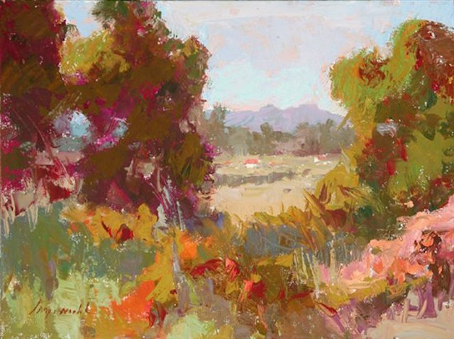 Painting Light | Camille Przewodek | Oil Painting | Sunny Day Landscape | Artist Daily