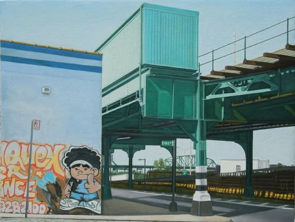 East 165th St, Bronx by Laura Shechter, 2013.