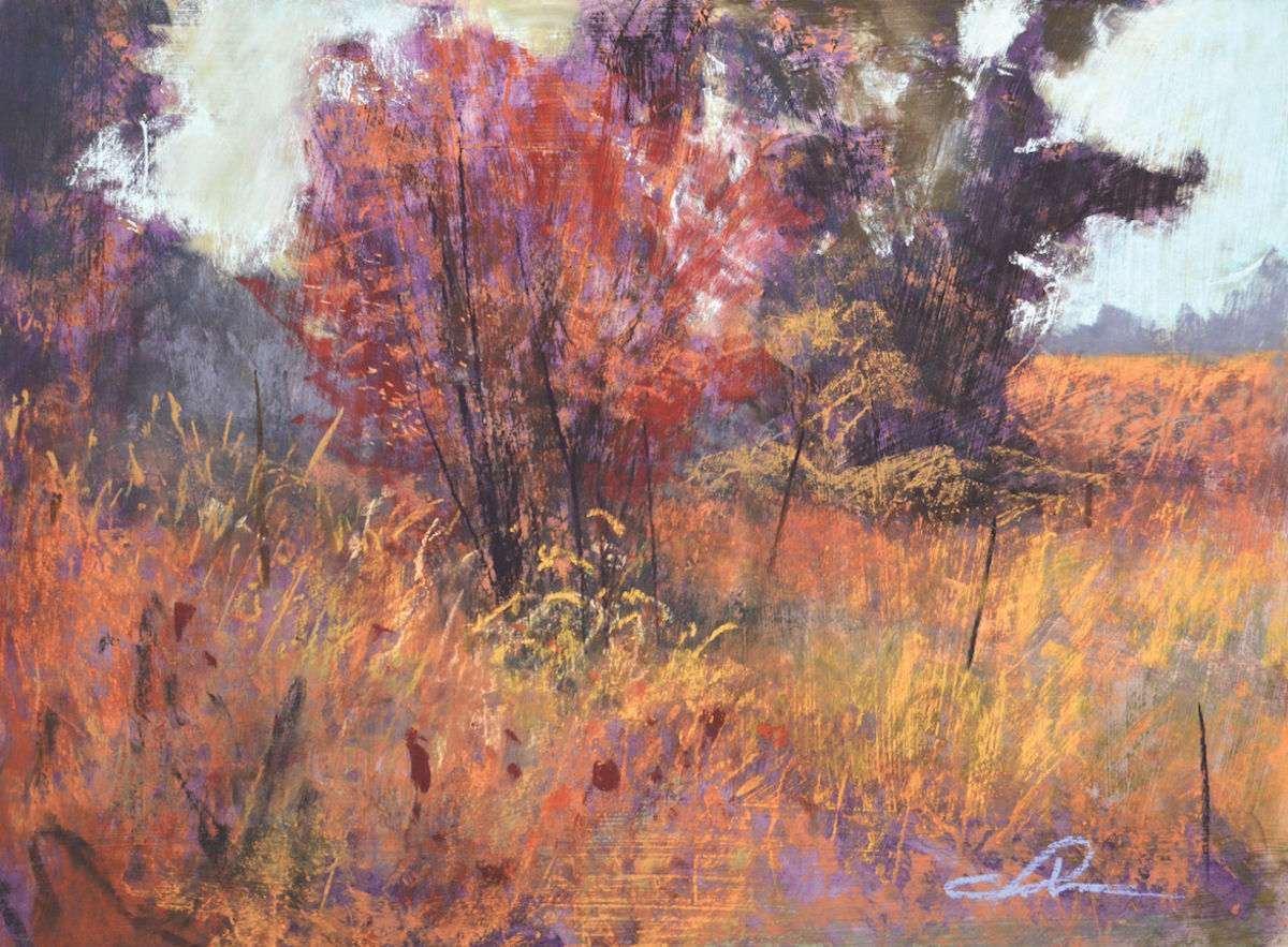 Adding Texture to Pastel Underpainting | Underpainting Techniques | Pastel Techniques | Paint Texture Techniques | Pastel Journal | Tom Christopher | Artists Network