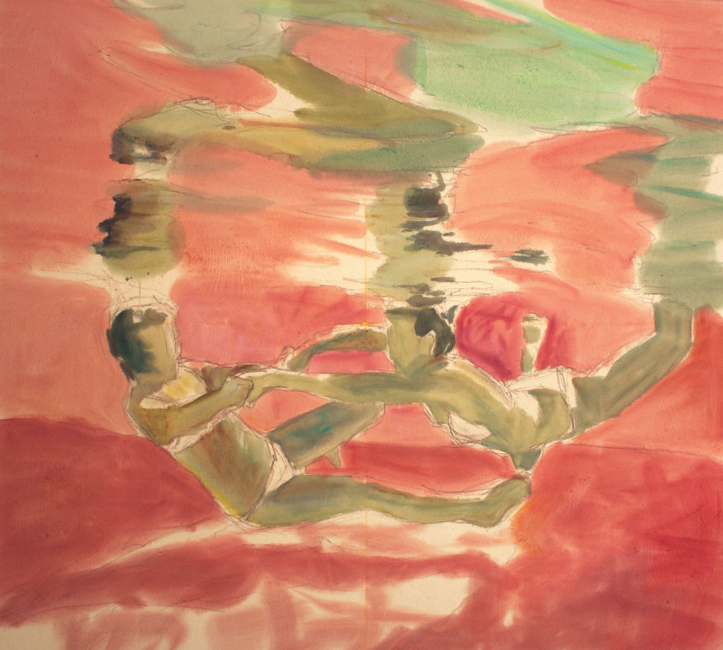 Alliance demo by Michele Poirer-Mozzone, step 2 | How to Create Colorful Underwater Scenes in Pastel | Artists Network