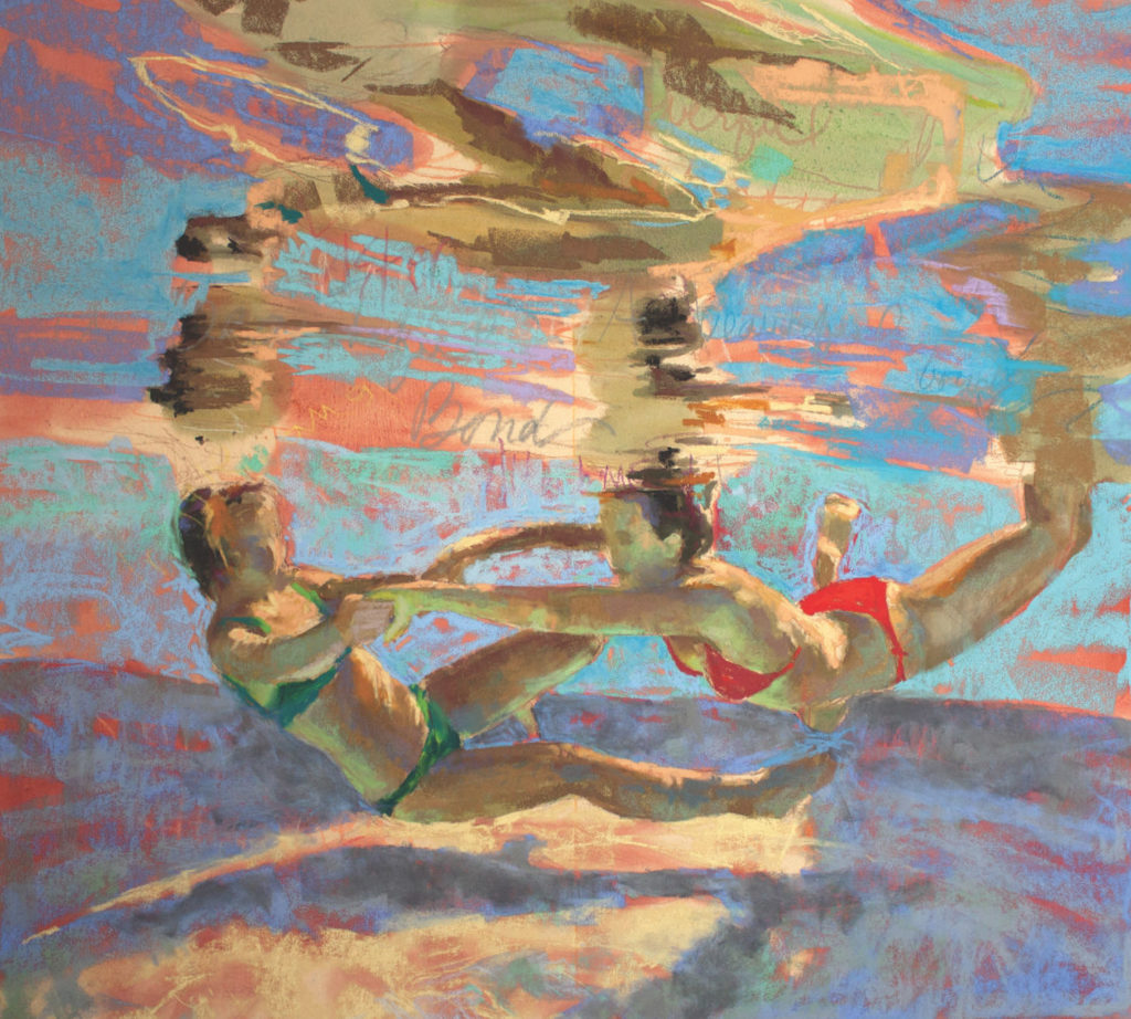 Alliance demo by Michele Poirer-Mozzone, step 4 | How to Create Colorful Underwater Scenes in Pastel | Artists Network