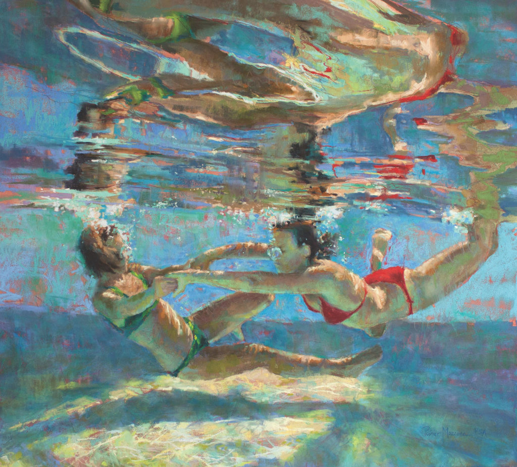 Alliance by Michele Poirer-Mozzone | How to Create Colorful Underwater Scenes in Pastel | Artists Network
