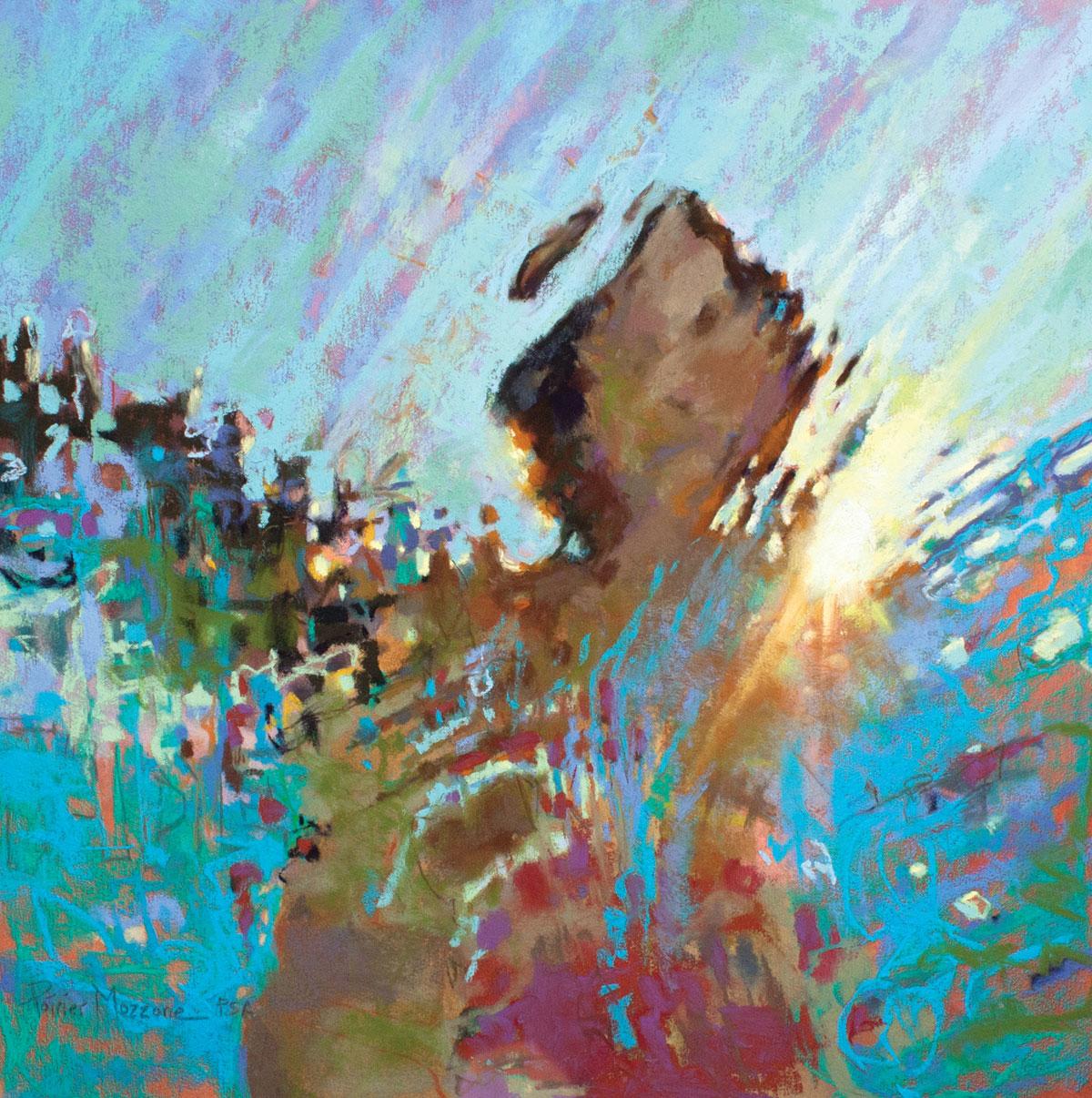 Creating Underwater Painting Scenes in Pastel