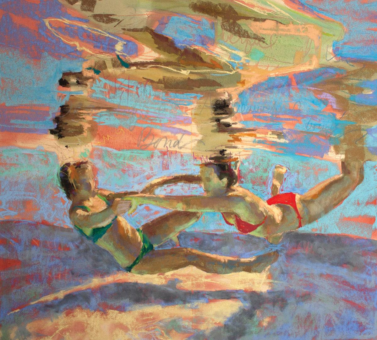 Poirier-Mozzone-underwater-scenes-Alliance-Step4-ArtistsNetwork