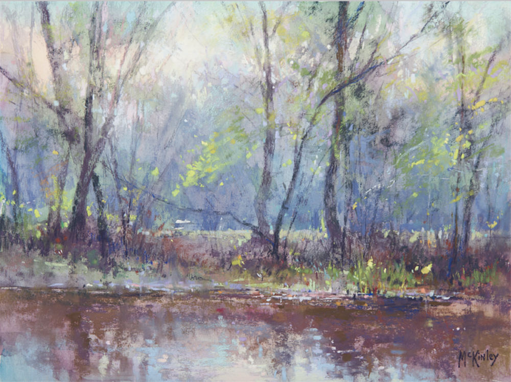 Pastel Landscape | Richard McKinley | Artists Network