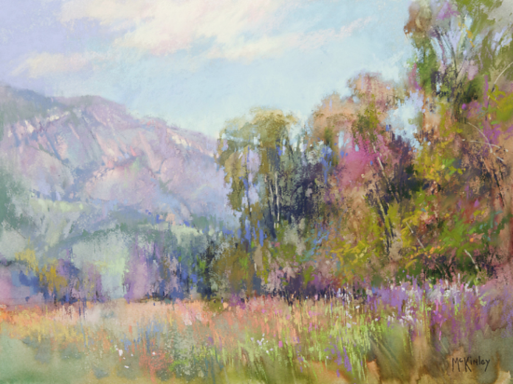 Power of Suggestion | Pastel Landscapes | Richard McKinley | Artists Network