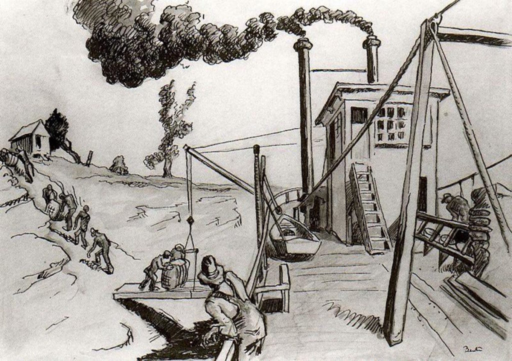 Drawing Lessons with Thomas Hart Benton | Sketches | Artists Network