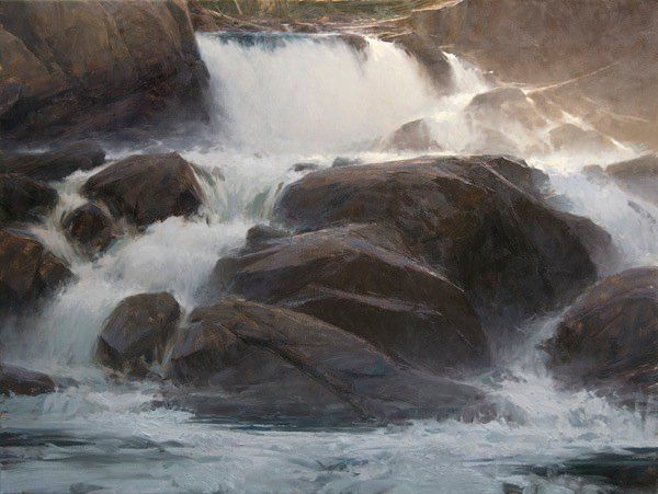 Spring Falls by Jeremy Lipking