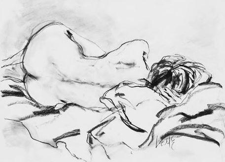 Sketch by Linda Capello