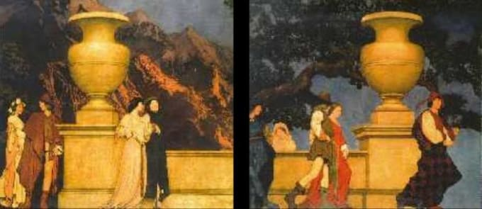Parrish paintings stolen out of 5th Avenue mansion.