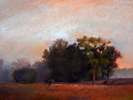 The Guardian by Elaine Lierly-Jones, pastel landscape