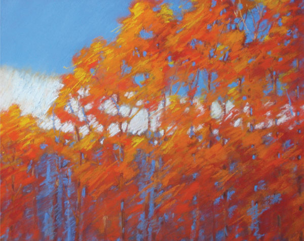 Fall Trees | Pastel Artist | Mary Denning | Artists Network