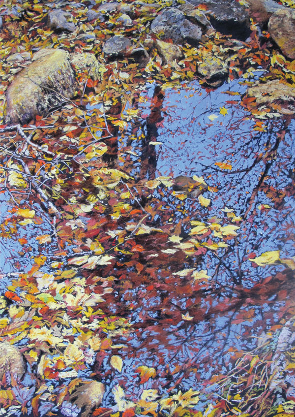 Fall Trees | Pastel Artist | Judy Evans | Artists Network