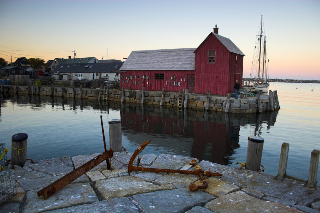 Motif No. 1, Rockport, Massachusetts, photo by Getty Images | 10 Places to Paint en Plein Air | Artists Network