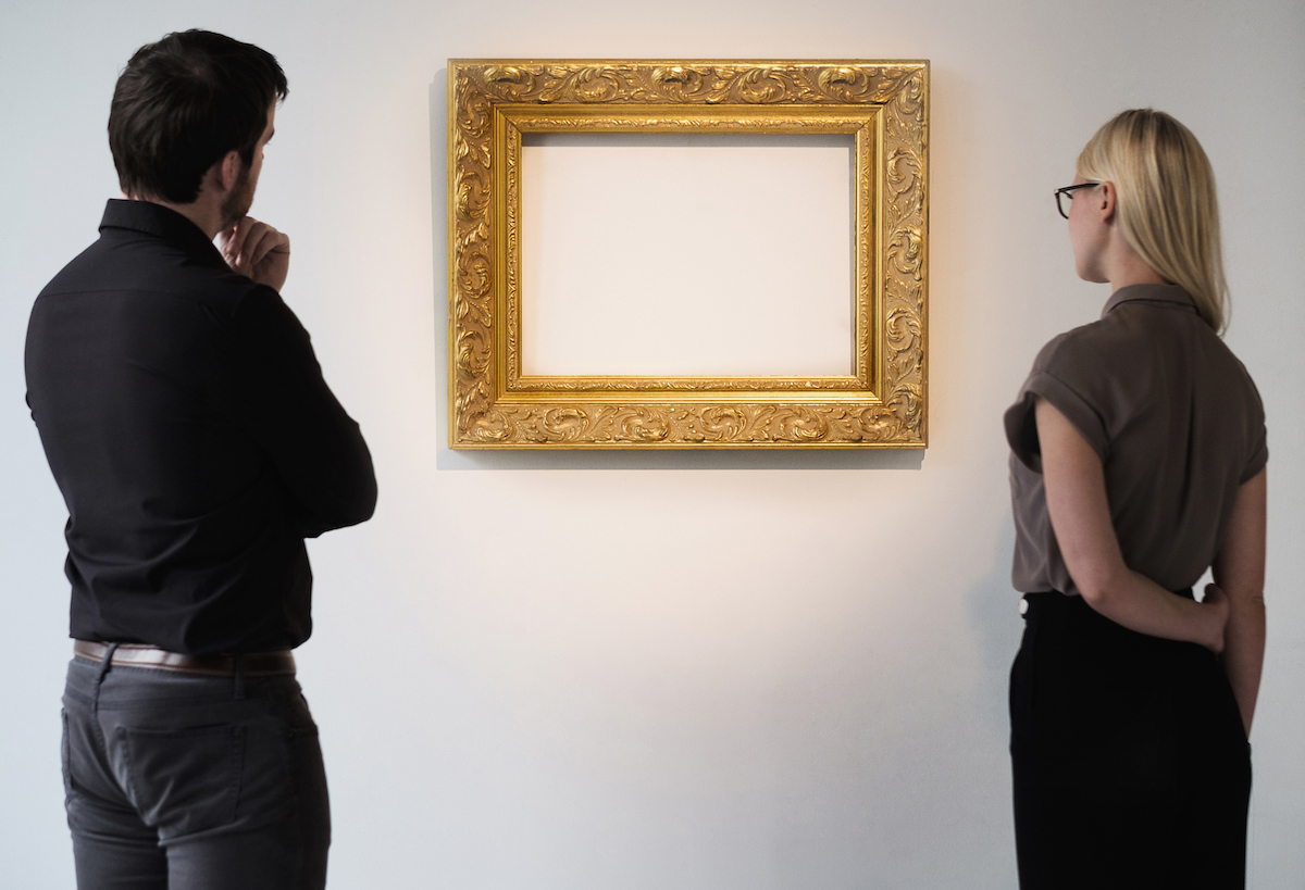 Art Frame | Don't Choose Ornate Framing | Preparing for Art Exhibit | Artists Network
