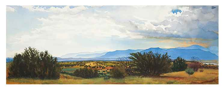 Watercolor Techniques | How to Paint Clouds in Watercolor | The Artist's Road | John Hulsey | Artist Daily