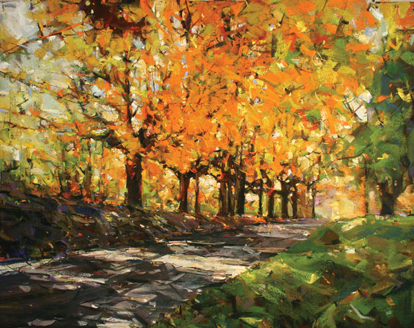 Fall Trees | Pastel Artist | James Kasperek | Artists Network