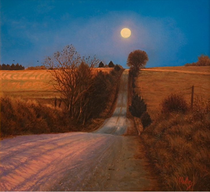 Have You Ever Tried Painting By Moonlight Artist Daily