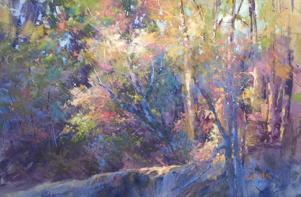 Fall Trees | Pastel Artist | Nancy Nowak | Artists Network